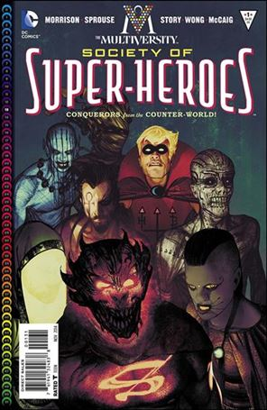 Multiversity: The Society of Super-Heroes: Conquerors of the Counter-World 1-C