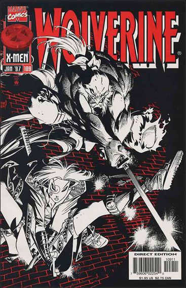 Wolverine (1988)  109-A by Marvel