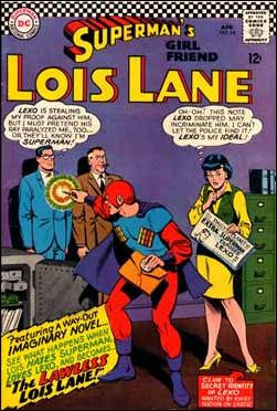 Superman's Girl Friend Lois Lane 64-A by DC