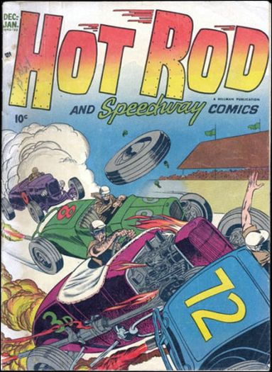 Hot Rod and Speedway Comics 3-A by Hillman