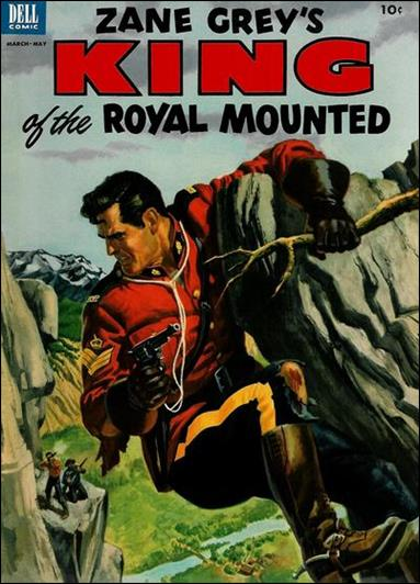 King of the Royal Mounted 11-A by Dell
