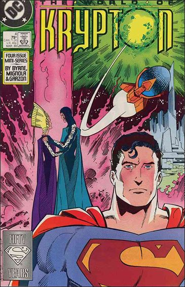 World of Krypton (1987) 4-A by DC