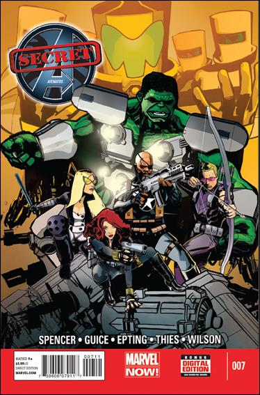 Secret Avengers (2013) 7-A by Marvel