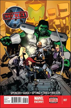 Secret Avengers (2013) 7-A