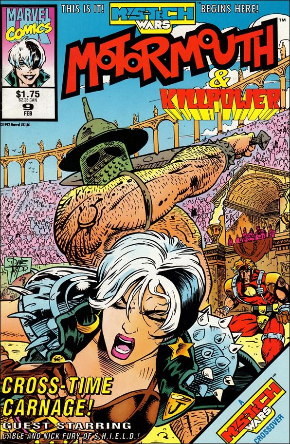 Motormouth (UK) 9-A by Marvel UK