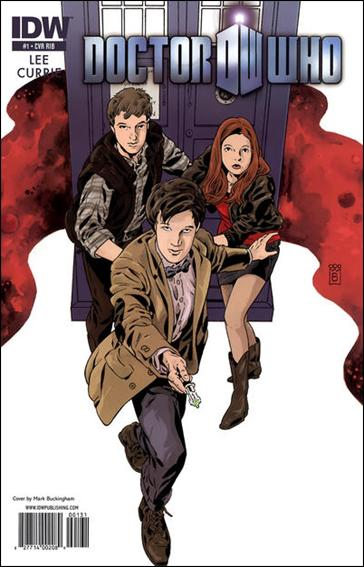 Doctor Who (2011) 1-C by IDW