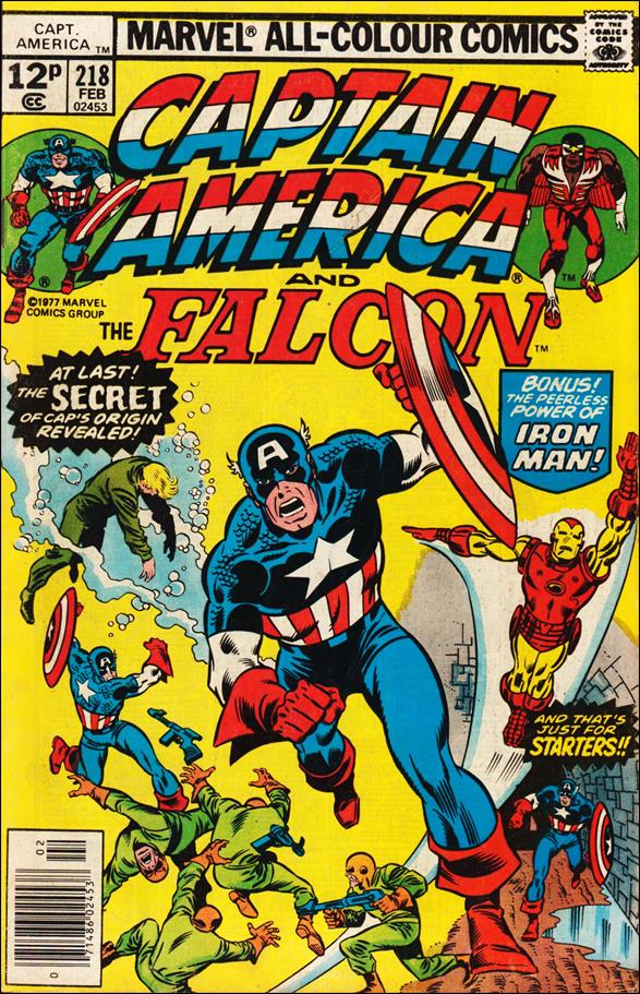 Captain America (1968) 218-B by Marvel