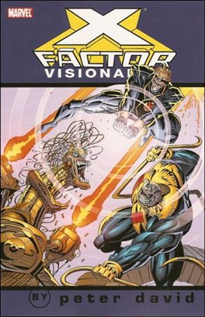 X-Factor Visionaries: Peter David 3-A