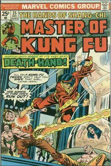Master of Kung Fu 35-A by Marvel