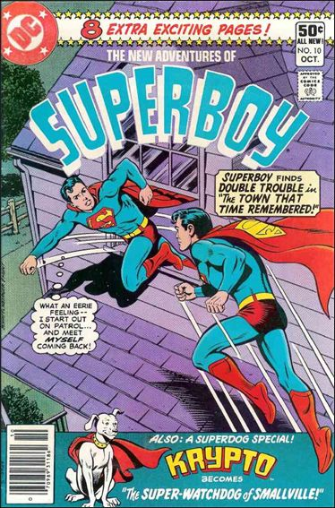 New Adventures of Superboy 10-A by DC