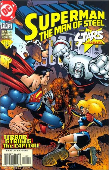 Superman: The Man of Steel 110-A by DC