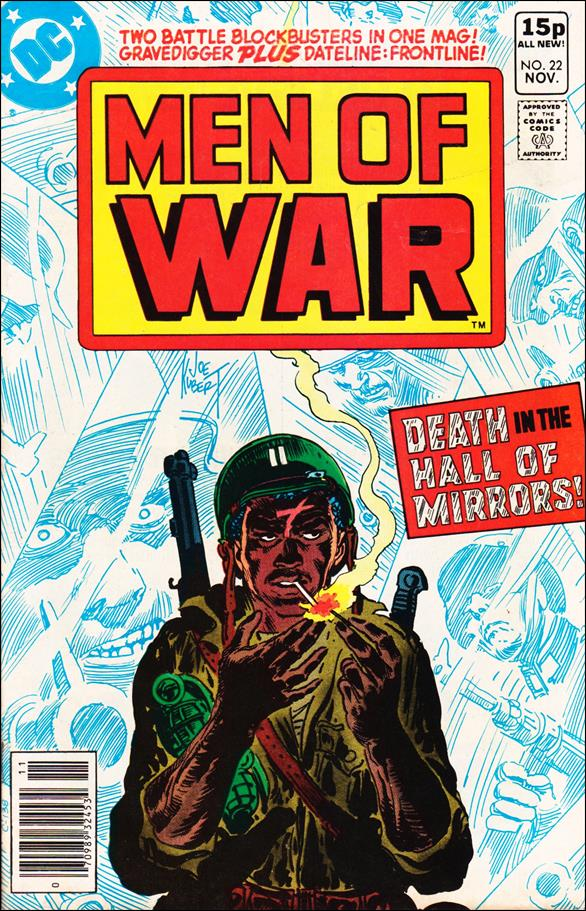Men of War (1977) 22-B by DC
