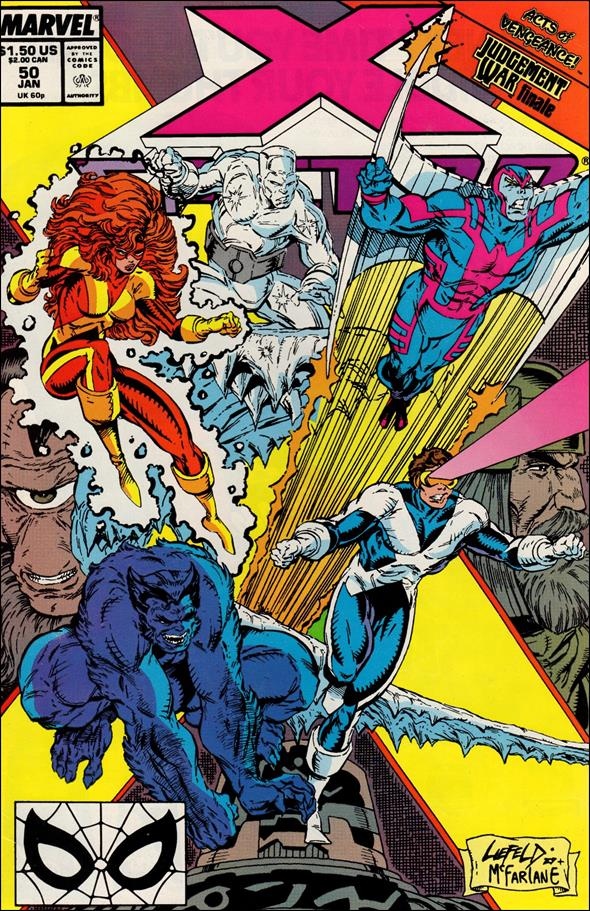 X-Factor (1986) 50-A by Marvel