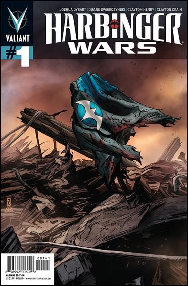 Harbinger Wars 1-D by Valiant Entertainment