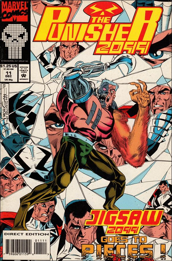 Punisher 2099 (1993) 11-A by Marvel