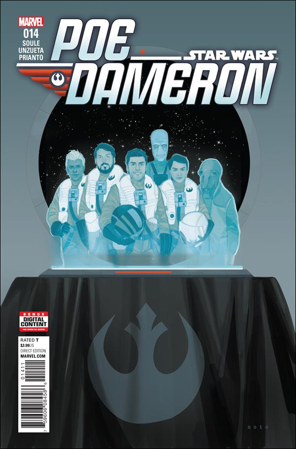 Poe Dameron 14-A by Marvel