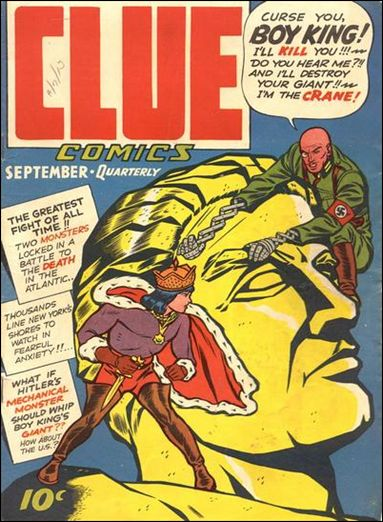 Clue Comics (1943) 5-A by Hillman
