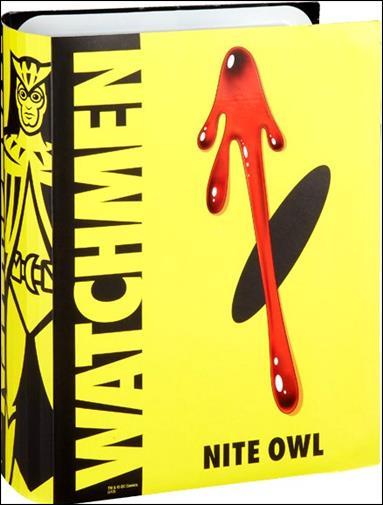 Watchmen Nite Owl by Mattel