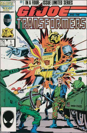 G.I. Joe and the Transformers 1-A by Marvel