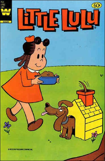 Marge's Little Lulu 268-A by Dell