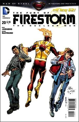 Fury of Firestorm: The Nuclear Man 20-A by DC