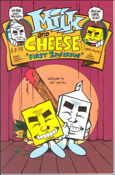 Milk & Cheese 5-C by Slave Labor Graphics (SLG) Publishing