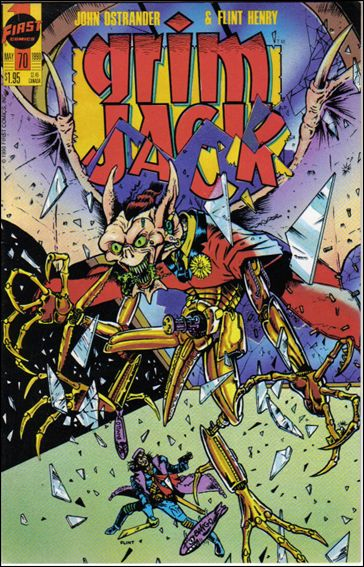 Grimjack 70-A by First