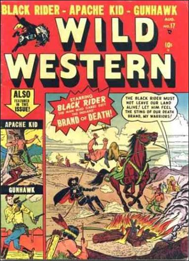 Wild Western 17-A by Marvel
