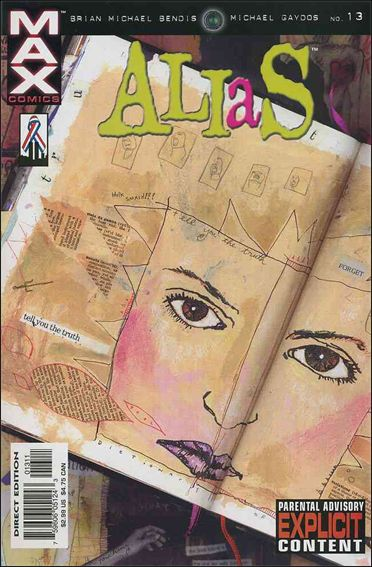 Alias (2001) 13-A by Max
