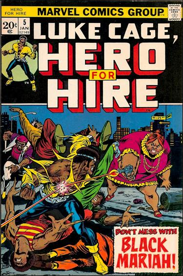 Hero for Hire 5-A by Marvel