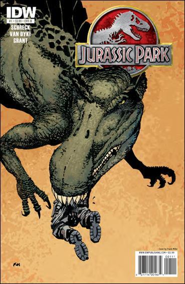 Jurassic Park (2010) 1-B by IDW