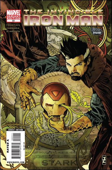 Invincible Iron Man (2008) 22-B by Marvel