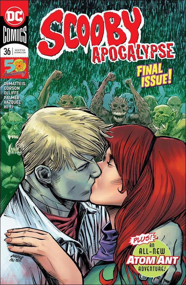 Scooby Apocalypse 36-A by DC