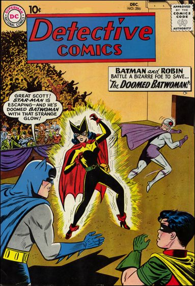 Detective Comics (1937) 286-A by DC