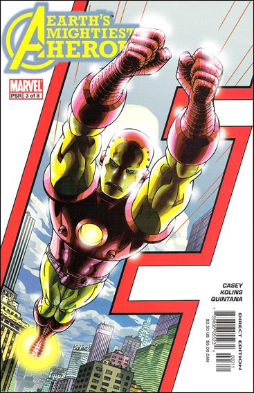 Avengers: Earth's Mightiest Heroes (2005) 3-A by Marvel