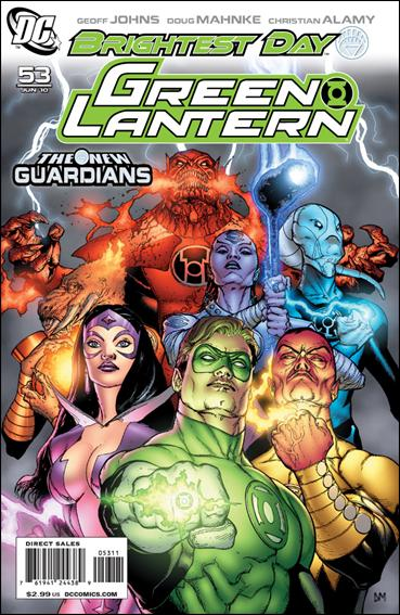 Green Lantern (2005) 53-A by DC