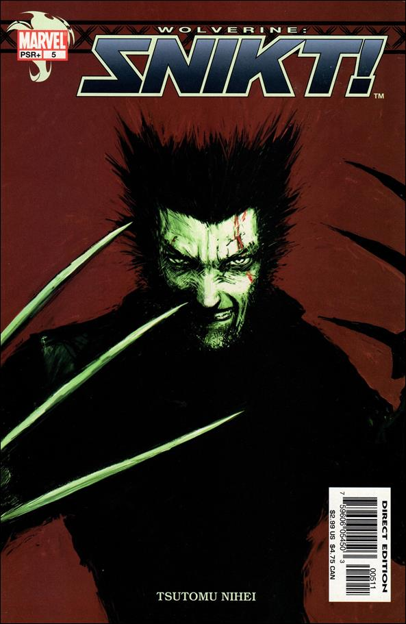 Wolverine: Snikt! 5-A by Marvel