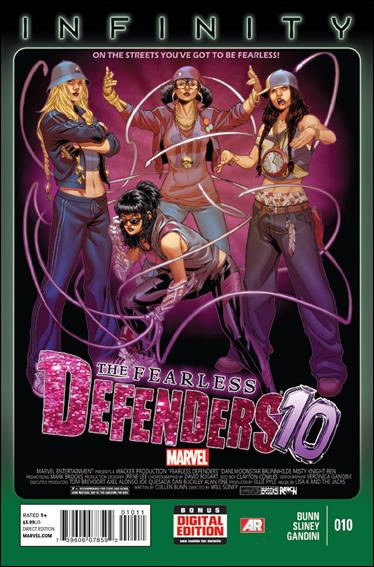 Fearless Defenders 10-A by Marvel
