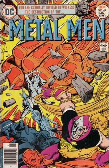 Metal Men (1963) 49-A by DC