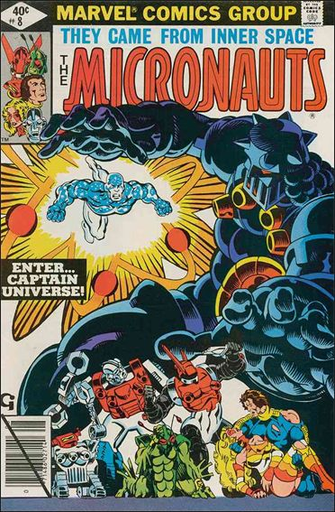 Micronauts (1979) 8-A by Marvel