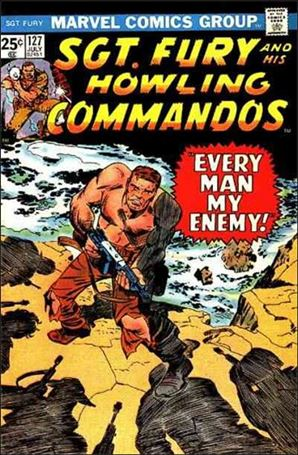 Sgt. Fury and His Howling Commandos 127-A