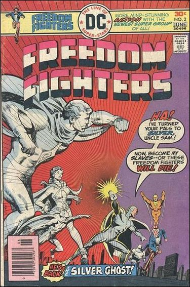 Freedom Fighters (1976) 2-A by DC