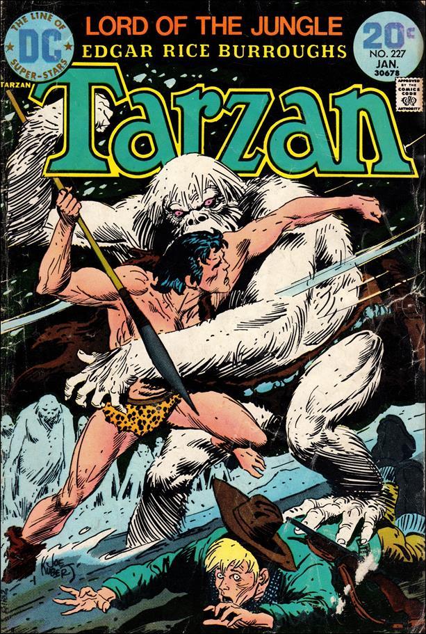 Tarzan (1972) 227-A by DC