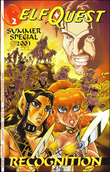 Elfquest Summer 2001 Special 2-A by Warp Graphics