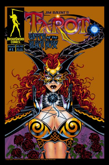 Tarot: Witch of the Black Rose 1-C by BroadSword Comics
