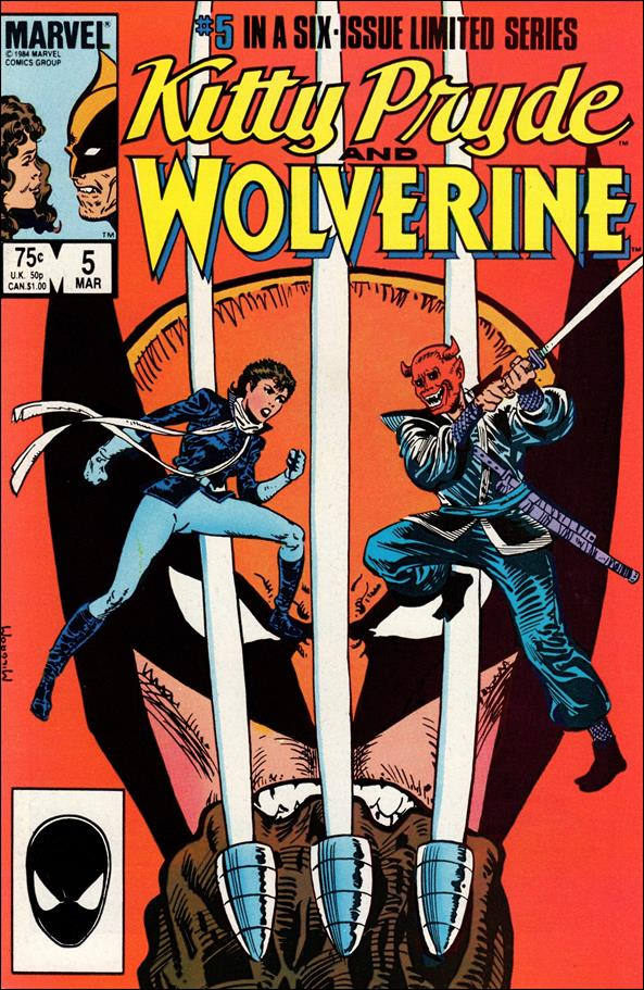 Kitty Pryde and Wolverine 5-A by Marvel