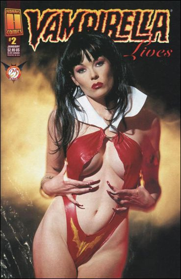 Vampirella Lives 2-C by Harris