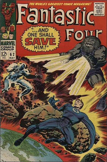 Fantastic Four (1961) 62-A by Marvel