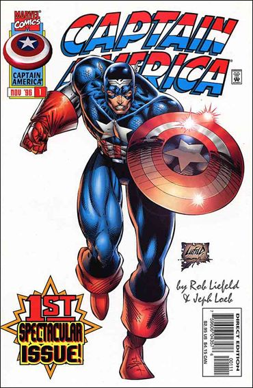 Captain America (1996) 1-A by Marvel