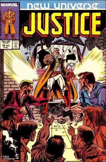 Justice (1986) 12-A by Marvel
